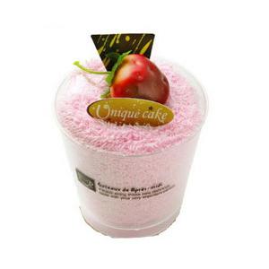 Торт-полотенце «Мороженое в стаканчике»