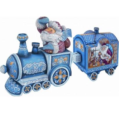 Шкатулка Поезд Деда Мороза, G.DeBrekht