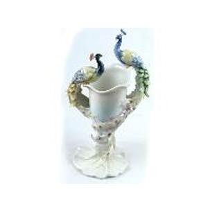Фарфоровая ваза «Павлины»