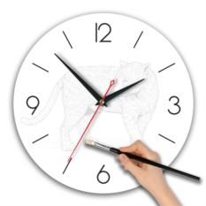Часы-раскраска Леопард