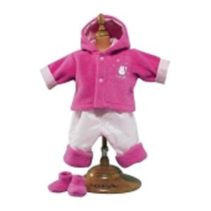 Набор для игры с куклой «Розовый флис»