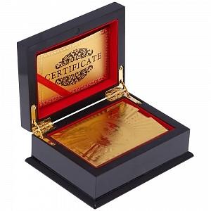 Подарочный набор «Золотые карты»