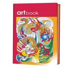 Записная книжка-раскраска ARTbook в китайском стиле