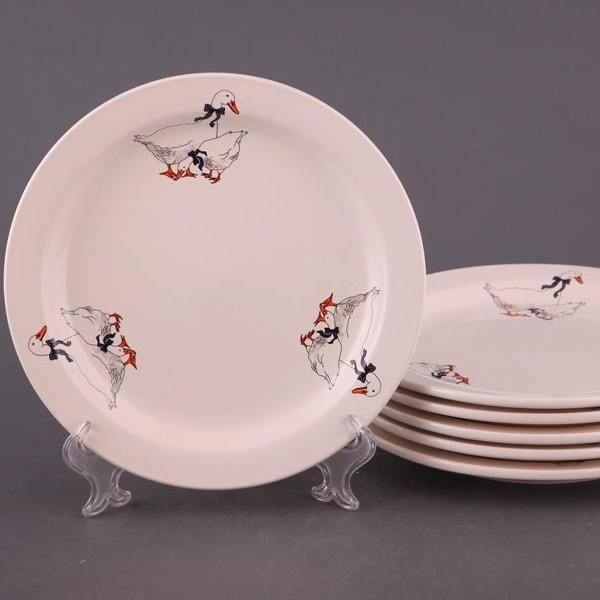 Набор тарелок Гусь