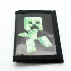 Черный кошелек Minecraft Крипер