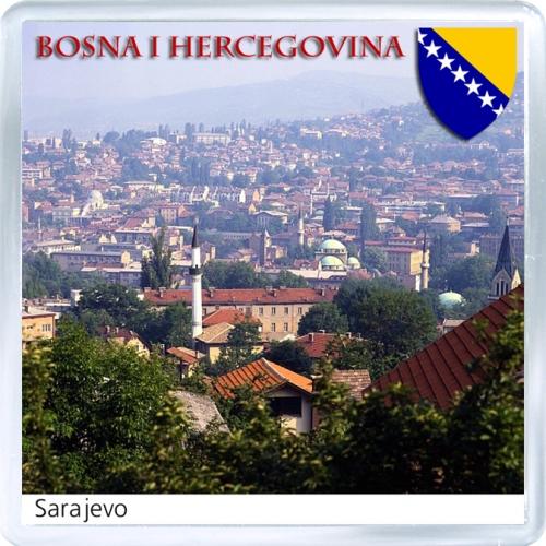 Магнит: Босния и Герцеговина. Сараево