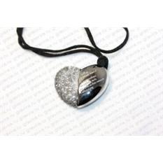 Флешка Сердце с гравировкой