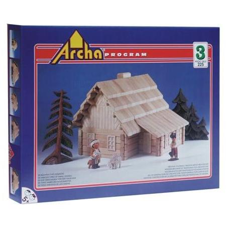 Деревянный конструктор ArchaProgram. Набор ARCHA-3