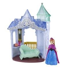 Кукла Анна. Холодное сердце с замком и аксессуарами