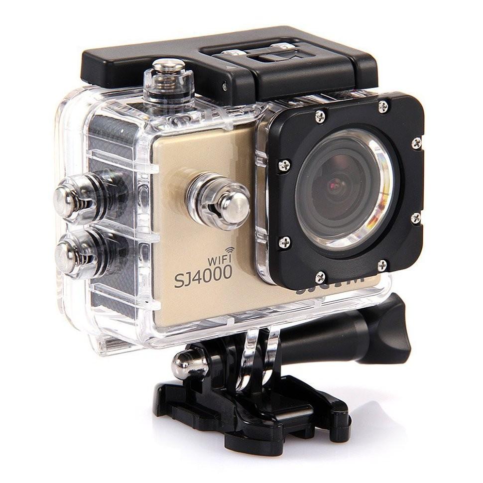 Экшн-камера SJCAM SJ4000 WiFi Gold