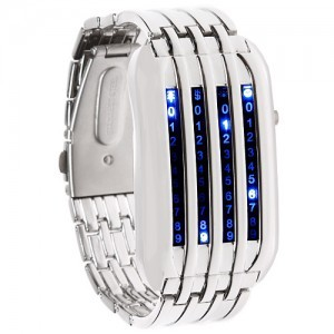 Наручные бинарные LED часы «One»
