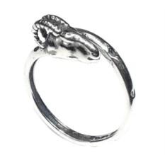 Кольцо-тотем Баран, серебро 925