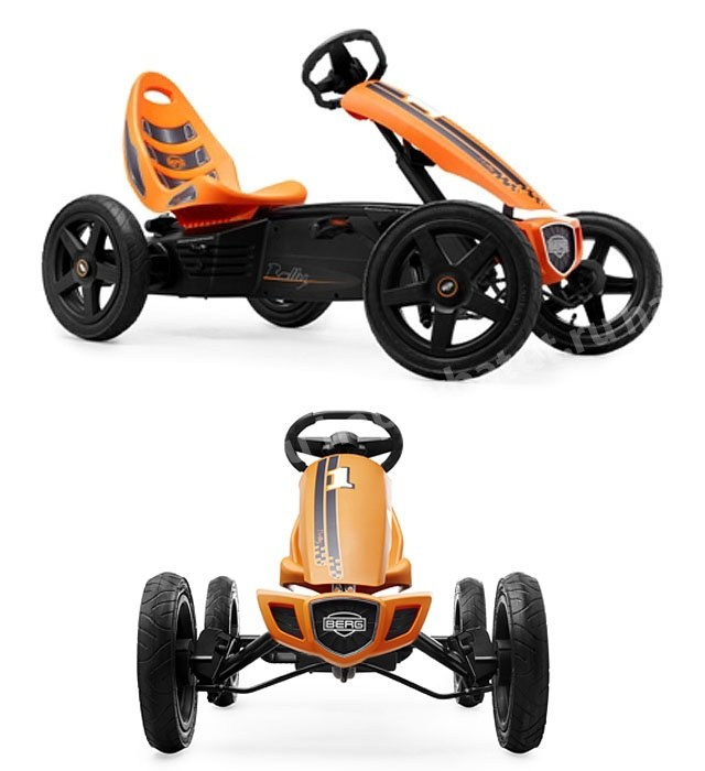 Детский веломобиль Berg Rally Orange