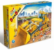 Детский конструктор Строительная машинка (308 деталей)