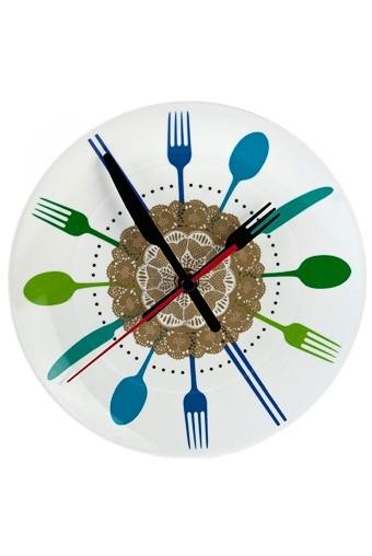 Настенные/настольные часы Пора есть