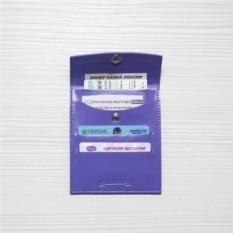 Кожаный холдер для автодокументов HK avto Mini, purple
