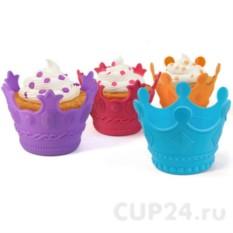 Набор из четырех формочек для выпечки Короны