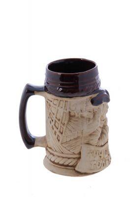 Кружка для пива Лучше моря только пиво…, шамот