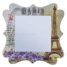 Зеркало с изображением Эйфелевой башни