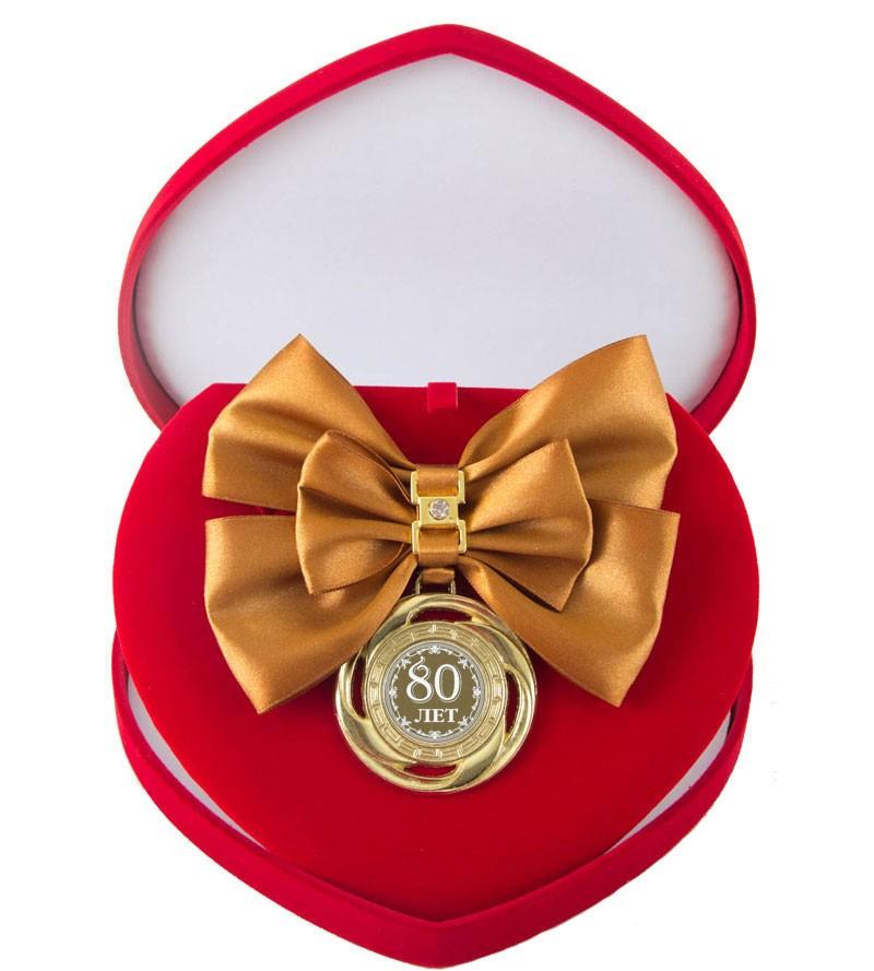 Большой Орден с бронзовой лентой и гравировкой Юбилей 80