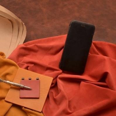 Кожаный чехол-книжка для iPhone 6S/6 «Мистический ворон»
