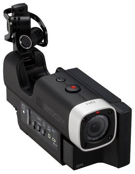 Портативный ручной видеорекордер (экшн-камера) Zoom Q4