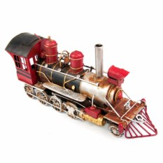 Ретро-модель Красный паровоз