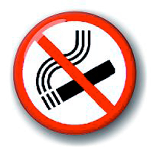 Значок «Не курить»