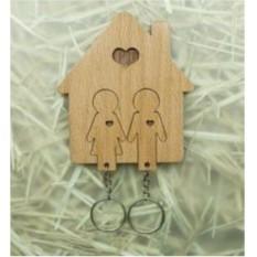 Настенная ключница Счастливы вместе