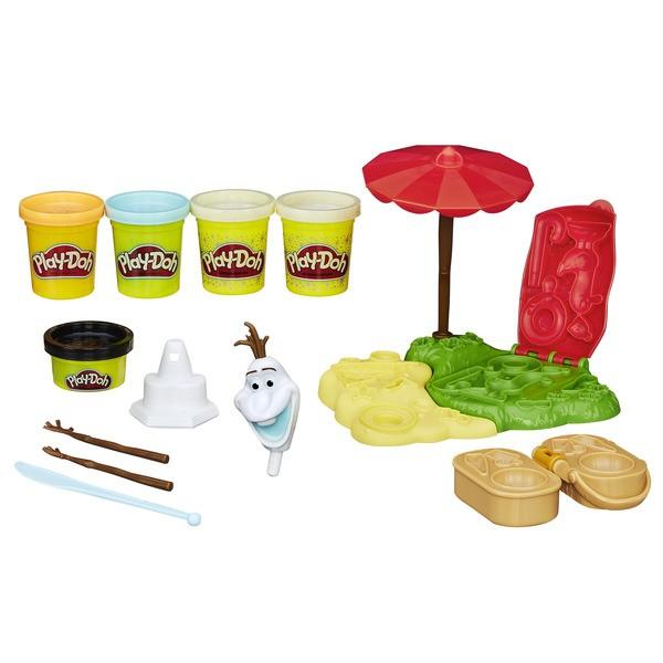 Игровой набор Play-Doh Летние приключения Олафа (Hasbro)
