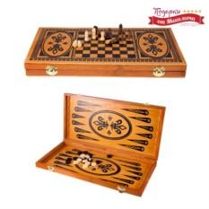 Подарочные шахматы и нарды Кавказские