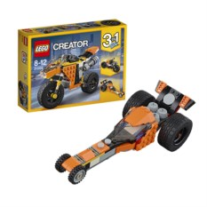 Конструктор Lego Creator Жёлтый мотоцикл