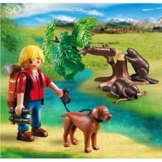 Конструктор Playmobil Wild Life Бобры и юный натуралист