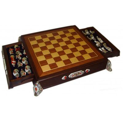 Фарфоровые шахматы  «Ледовое побоище»