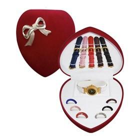 Подарочный набор часов Сердце