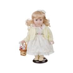 Фарфоровая кукла Вера с мягконабивным туловищем