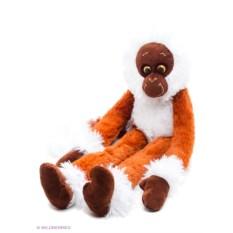 Мягкая игрушка Машка-обнимашка (цвет: коричневый)