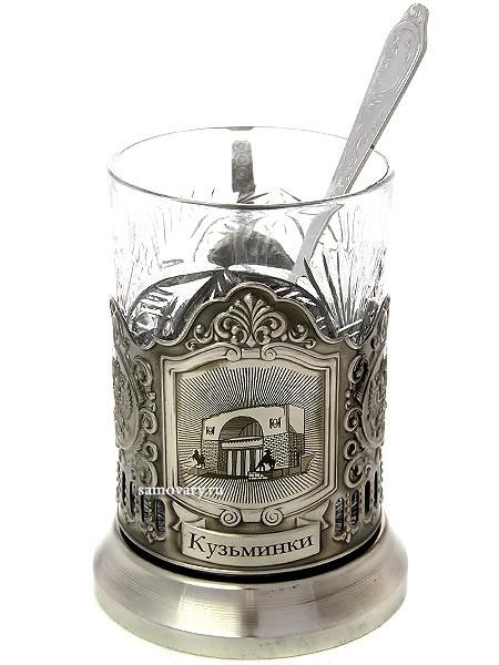 Набор для чая с подстаканником Усадьбы Москвы. Кузьминки