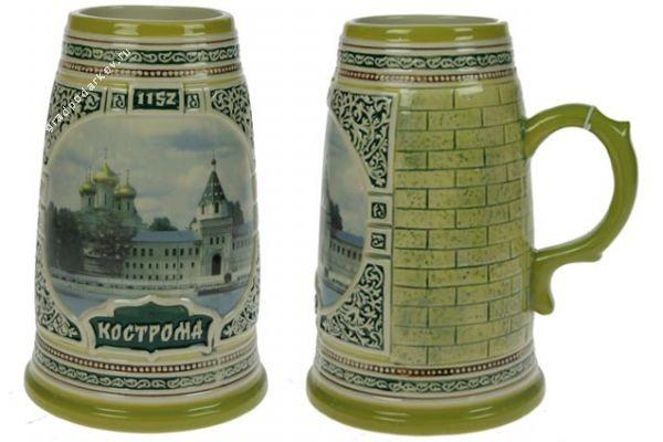 Коллекционная пивная кружка Кострома