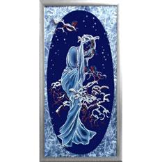 Картина из кристаллов «Зимняя сказка»
