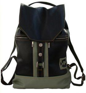 Кожаный рюкзак Практик