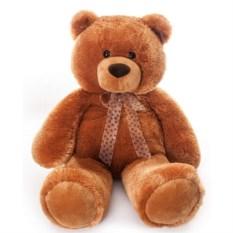 Мягкая игрушка Aurora Медведь коричневый cидячий, 70 см