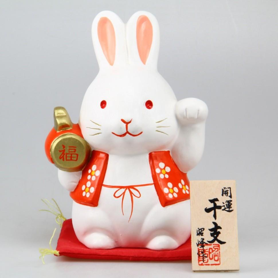 Фарфоровая статуэтка Кролик Morita&Co