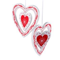 Набор декоративных украшений Сердце