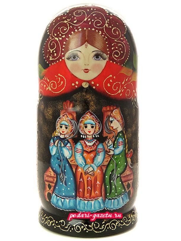Набор матрешек Три девицы
