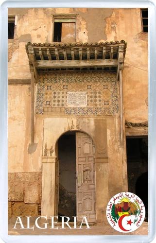 Магнит на холодильник: Алжир. Старый дом