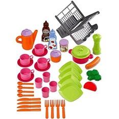 Набор сушилка для посуды и посуда, Smoby