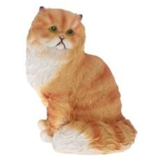 Декоративная садовая фигура Персидский кот №1