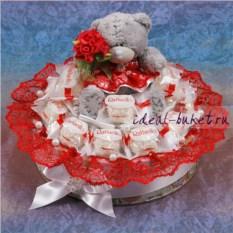Торт из конфет Сладкий подарок
