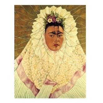 Репродукция картины Ф. Кало «Автопортрет»